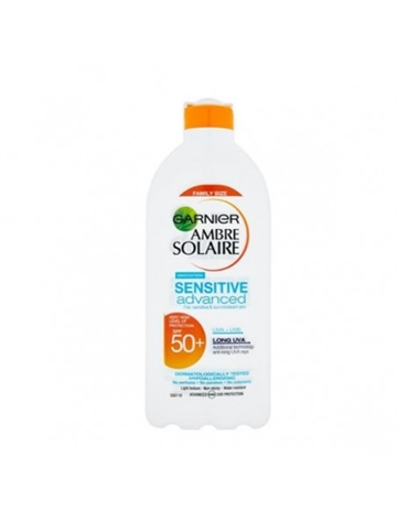 Garnier Ambre Solaire Sensitive Advanced Sonnenmilch Körper 400ml