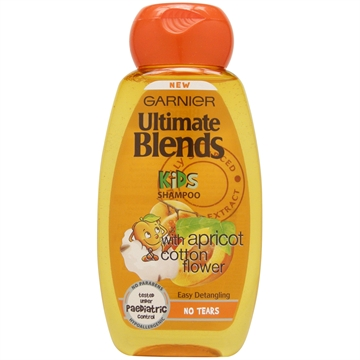 Garnier Ultimate Blends Kids Shampoo Apricot 250ml