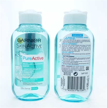 Garnier Pure Active Micellar Water 125ml