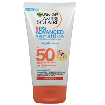 Garnier Sun Cream 150 ml Sensitive Kids Protection 50