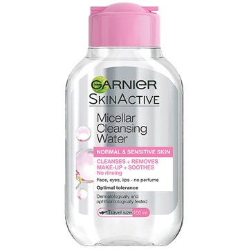 Garnier  Micellar Water Clambre Solairesic Travel Size 100ml