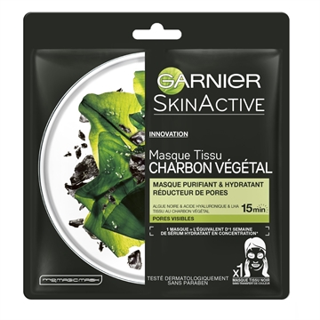 Garnier Skinactive Pure Charcoal Tissue Mask