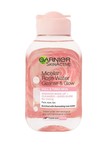 Garnier Skin Activ Micellar Rose Water Cleans & Glow 100ml