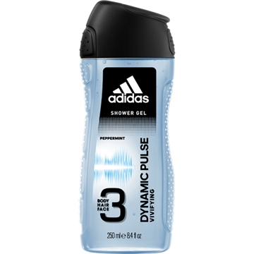 Adidas Dusch 250ml 3in1 Dynamic Pulse