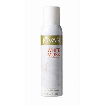 Jovan White Musk Deo Spray - For Women 150ml
