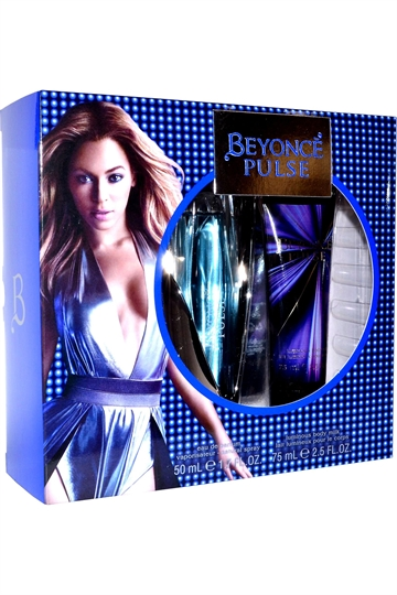 Beyonce Pulse Eau de Parfum 50ml & Luminous Body Milk 75ml