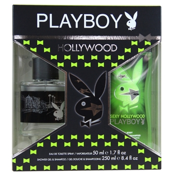 Playboy Hollywood pack Eau de cologne & Shower gel 50 ml + 250 ml