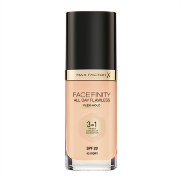 Max Factor Facefinity 3In1 Foundation 42 Ivory