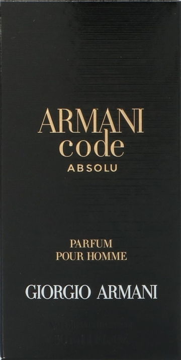 Armani Code Absolu Edp Spray 30ml