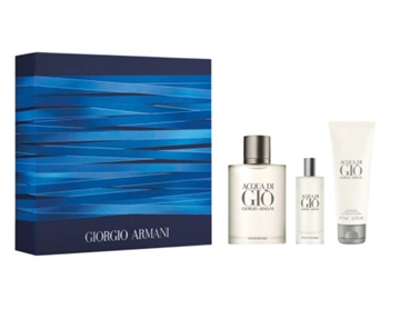 Armani Acqua Di Gio Pour Homme Giftset 190ml Edt Spray 100ml/Edt Spray 15ml/Gel 75ml