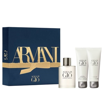 Armani Acqua Di Gio Pour Homme Giftset 200ml Edt Spray 50ml/After Shave Balm 75ml/Gel 75ml