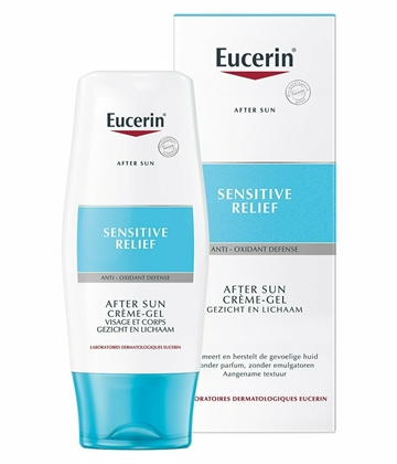 Eucerin After Sun Sensitive Relief Cream Gel Face&Body 150ml