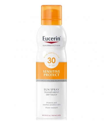 Eucerin Sun Protection Solar Spray 200ml Factor 30 Sensitive Skin