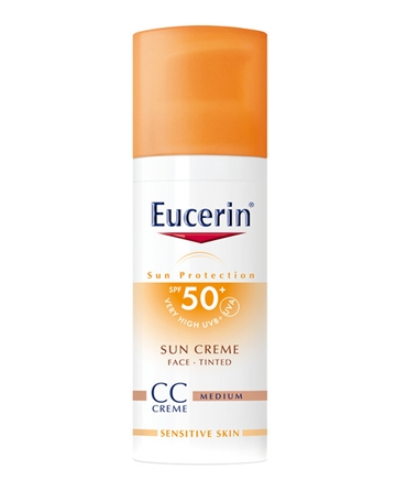 Eucerin Sun Protection Solar Cream 50ml Factor 50 Anti-Age Face Medium Tone