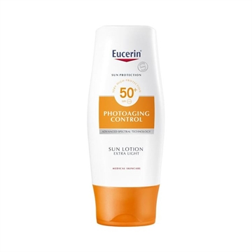 Eucerin Sun Protection Sun Lotion 150ml Factor 50 Anti-Age