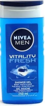 Nivea Men Shower Gel Vitality Frh 250ml