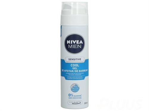 Nivea Shaving Gel - Sensitive Cool 200ml