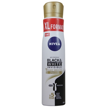 Nivea Deodorant Spray 250g Black & White Invisible Silky Smooth