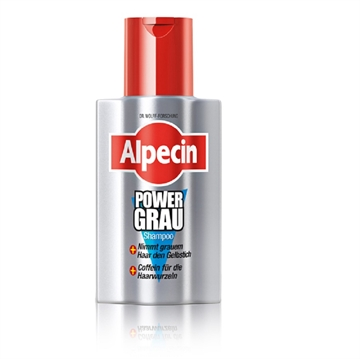 Alpecin Shampoo 200ml Power Grau
