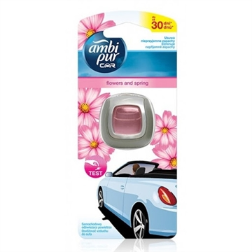 Ambipur Car Freshener Clip 2 ml Flowers & Spring