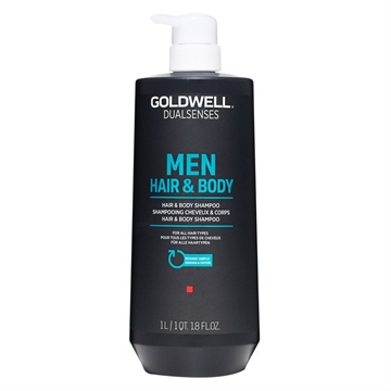 Goldwell Dual Senses Men Hair&Body Shampoo 1000ml For All Hair Types
