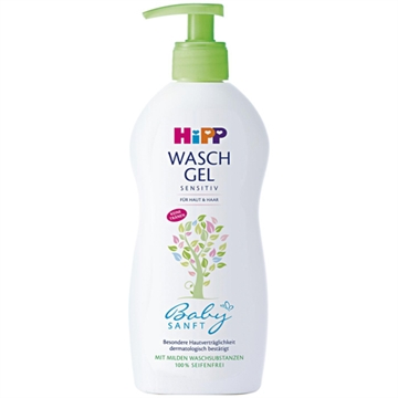 Hipp Babysanft washgel 400ml Skin and hair