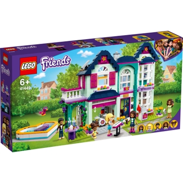 LEGO Friends Andreas Haus 41449