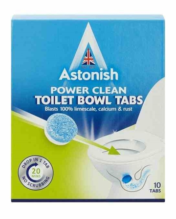 Astonish Toilet Bowl Cleaner Tabs 10'