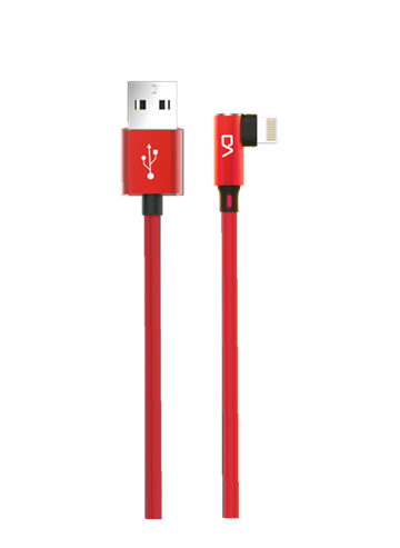 Lighting Charging Cable for iPhone Red