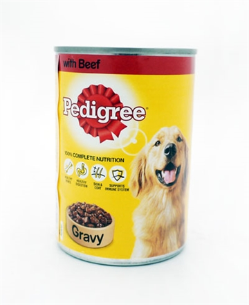 Pedigree Dog Beef Cig 400G