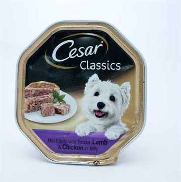 Cesar Dog Lamb & Chicken Tray 150G