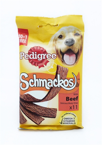 Pedigree Dog Schmackos Beef  12'S