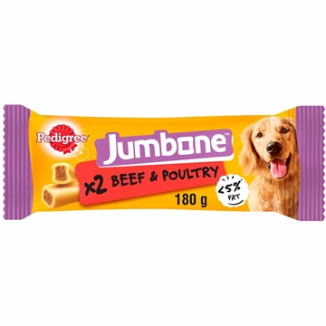 Pedigree Jumbone Medium Treat/Beef 2 Chews