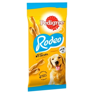 Pedigree Rodeo Dog Treat With Chicken 7 Sticks