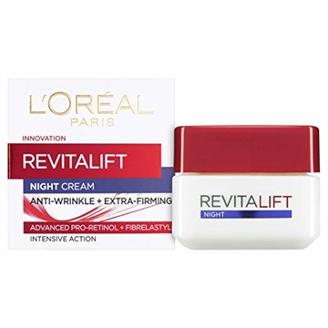 L'Oréal Revitalift Night Anti Wrinkle Firm Cream 50ml Intensive Action