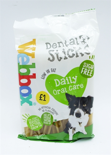 Webbox Dog Dental Sticks 7Pk 180G