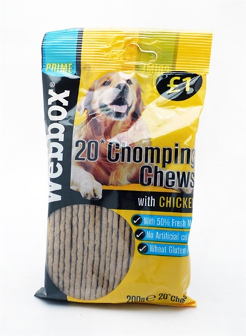 Webbox Dog Chews Chicken  200G