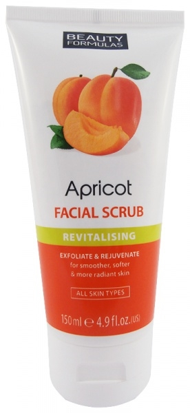 Beauty Formulas Face Scrub Apricot 150ml