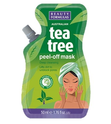 Beauty Formulas Teatree Peel Off Mask 50ml