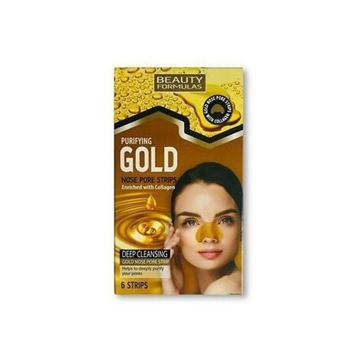 Beauty Formulas Gold Nose Pore Strips