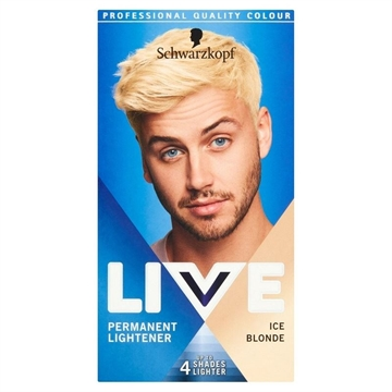 Schwarzkopf Live Permanent Colour For Men - Ice Blonde 00B