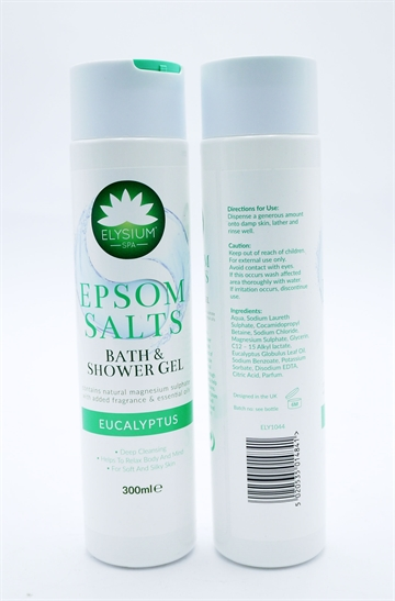 Elysium Spa Epsom Salt Shower Gel Eucalyptus 300ml