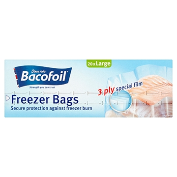 Bacofoil Freezer Bags 3Ply Special Film 20'