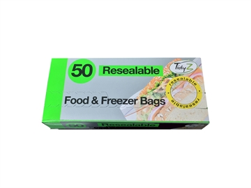 Food Bags Resealable 50'