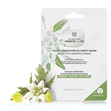 The Body Shop Drops of Youth Youth Concentrate Sheet Mask 21ml