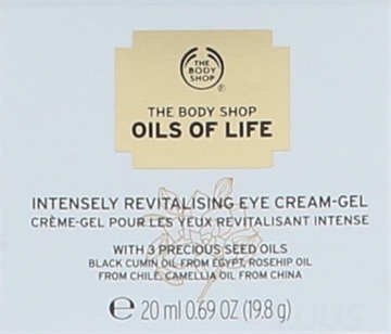 The Body Shop Oils Of Life Eye Cream Gel 20ml