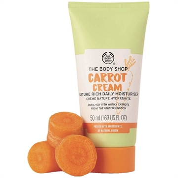 The Body Shop Moisture Cream 50ml Carrot Suitable For Sensitive Skin
