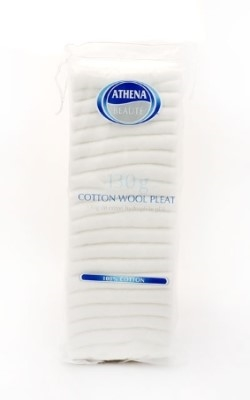 Athena Cotton Wool Pleat 130G