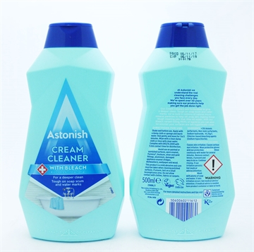 Astonish Bleach Cream Cleaner 500ml