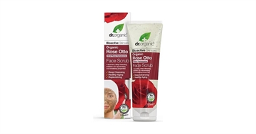 Dr. Organic, Rose Otto Face Scrub, 125 Ml.
